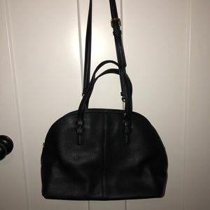 Black Vera Bradley Handbag with removable strap